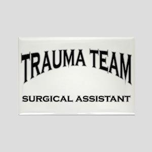 Trauma Team SA - black Rectangle Magnet