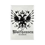 Von Wolfhausen Brewery Rectangle Magnet