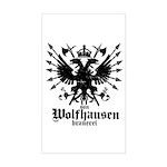 Von Wolfhausen Brewery Sticker (Rectangle)