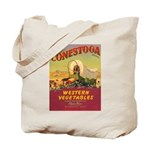 Vintage Vegetable Label Tote Bag