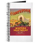 Vintage Vegetable Label Journal