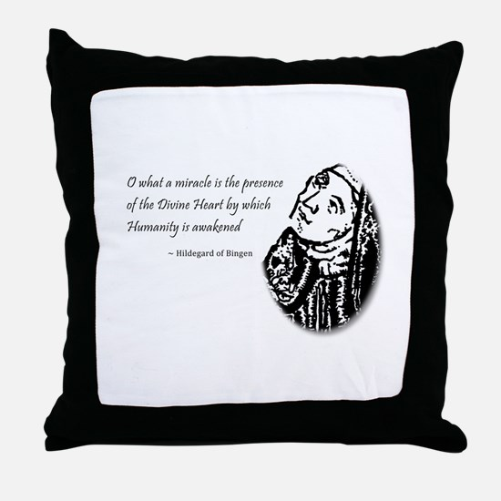 Cute Early music Throw Pillow