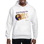 Global Warming Man Hooded Sweatshirt