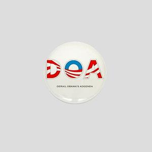 Derail Obama's Agenda Mini Button