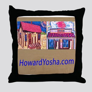 Orange County Storefronts His Throw Pillow