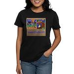 Orange County Storefronts Women's Dark T-Shirt