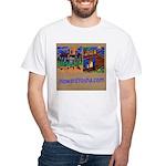 Orange County Storefronts White T-Shirt
