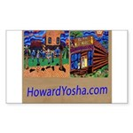 Orange County Storefronts Sticker (Rectangle)
