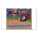 Orange County Storefronts Sticker (Rectangle 10 pk