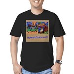 Orange County Storefronts Men's Fitted T-Shirt (da