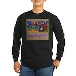 Orange County Storefronts Long Sleeve Dark T-Shirt