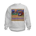 Orange County Storefronts Kids Sweatshirt