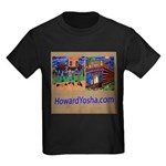 Orange County Storefronts Kids Dark T-Shirt