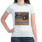 Orange County Storefronts Jr. Ringer T-Shirt