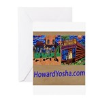 Orange County Storefronts Greeting Cards (Pk of 10