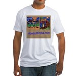 Orange County Storefronts Fitted T-Shirt