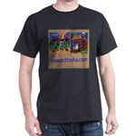 Orange County Storefronts Dark T-Shirt