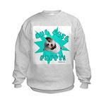 One Cute Puppy! Kids Sweatshirt