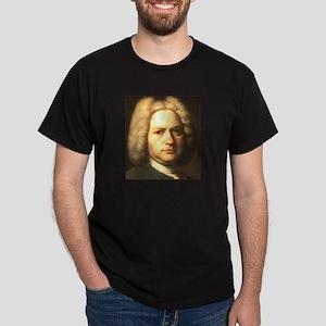 J. S. Bach Black T-Shirt