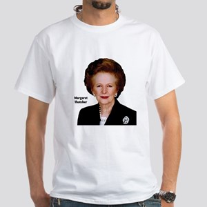 Lady Thatcher White T-Shirt