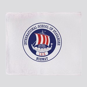 iss ship Throw Blanket
