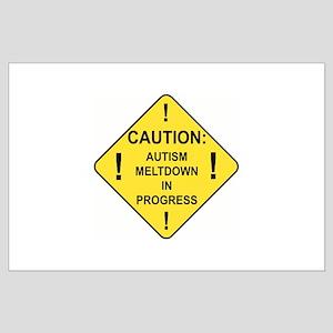 Autistic Meltdown Large Poster