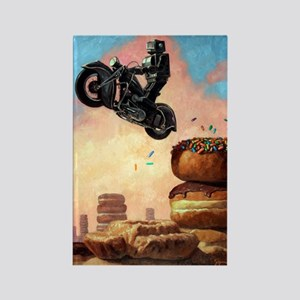 Dark Rider Againv Rectangle Magnet