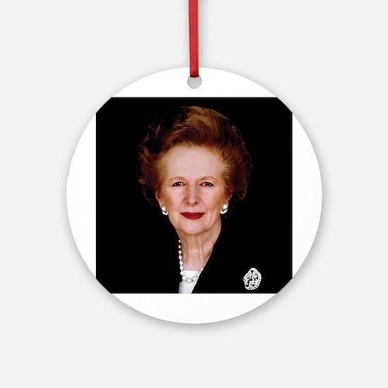 Lady Thatcher Ornament (Round)