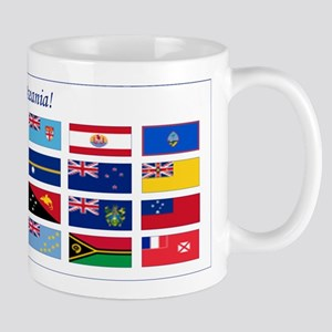 Continental Oceania Flags Mug