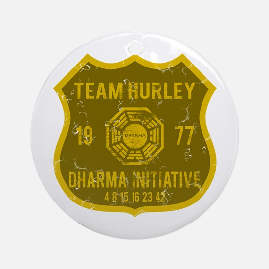 Team Hurley - Dharma 1977 Ornament (Round)