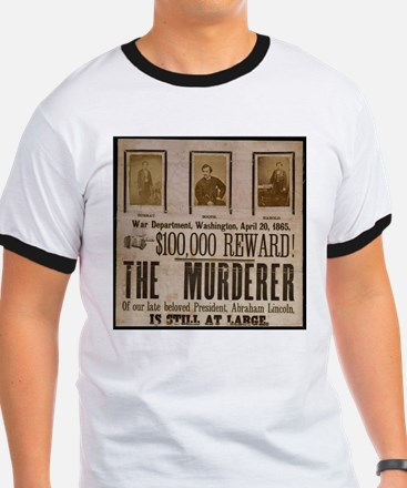 Booth Wanted Poster T
