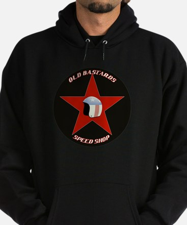 Old Bastards Speed Shop Hoodie (dark)