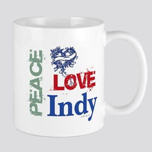 Peace Love Indy Mug