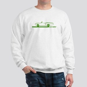 1968-69 Coronet Green Convertible Sweatshirt