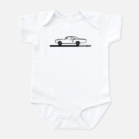 1968-69 Coronet Black Car Infant Bodysuit