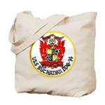 USS BUCHANAN Tote Bag