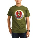 USS BUCHANAN Organic Men's T-Shirt (dark)
