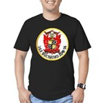 USS BUCHANAN Men's Fitted T-Shirt (dark)