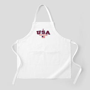 USA American Soccer Apron