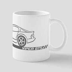 1996-02 Viper GTS Grey Car Mug