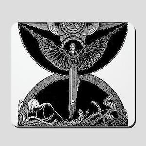 Black Angel Mousepad