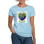 Love Your Earth Heart Women's Light T-Shirt