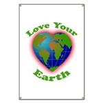 Love Your Earth Heart Banner