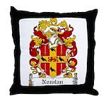 Nowlan Coat of Arms Throw Pillow