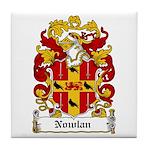 Nowlan Coat of Arms Tile Coaster