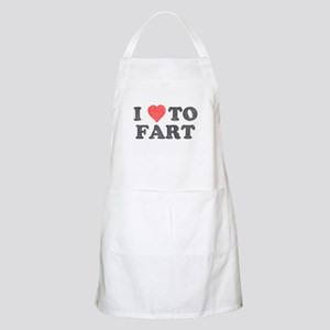 I Love To Fart Apron