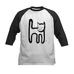 kitty Kids Baseball Jersey
