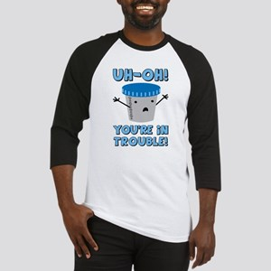 Funny Medical You're In Trouble Baseball Jersey