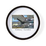 Freeway Madness Wall Clock