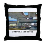 Freeway Madness Throw Pillow